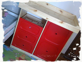 Breakdown: Trofast Frame: S$ 150, Changing Table Top: S$ 39, Changing Pad:  S$ 10, Set Of 4 Drawers: S$ 59, Cabinet Door: S$ 25, Shevles, 4 Nos.: S$ 40.