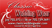 Classic Wedding Wear in Las Vegas