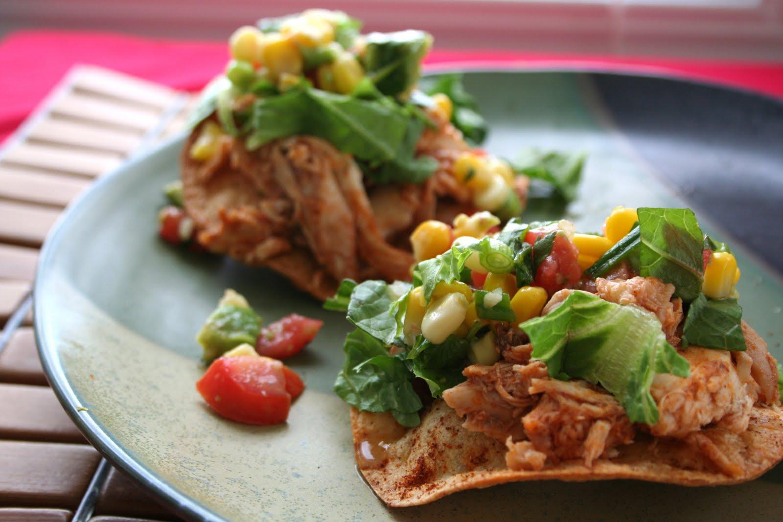 how to use corn tostadas