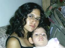 Daniela y su prima Lupita
