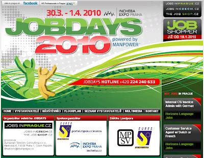 JobDays 2010 - Mezinárodní veletrh pracovních příležitostí