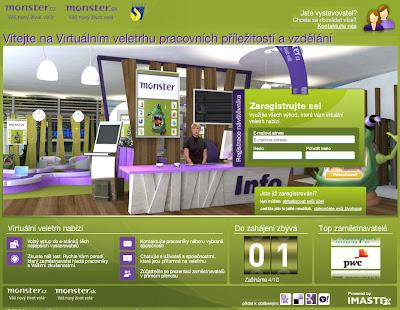 Virtuální veletrh práce, pracovních příležitostí a vzdělání (Monster.cz)
