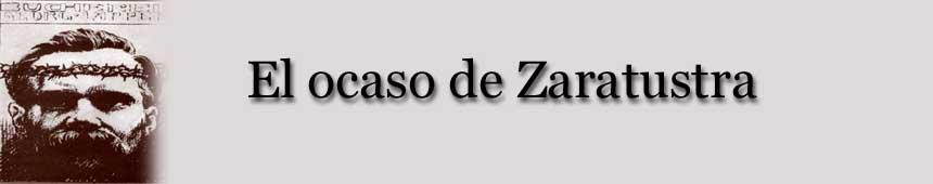 El ocaso de Zaratustra
