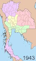 Regions as of 1943