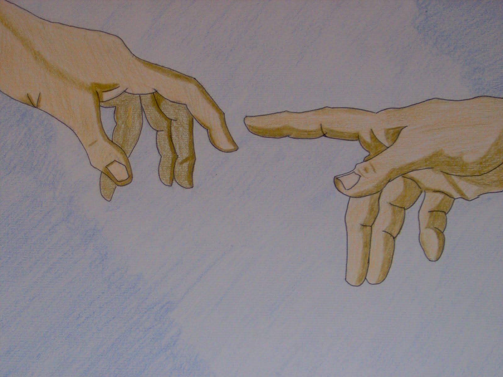 Disegni A Mano Libera Ecco Il Mio Disegno Sulle Mani Nella
