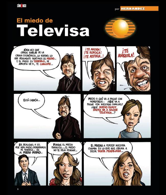 Critica a Televisa