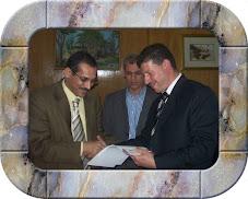تسليم شهادة التقدير  بمقر الهيئة القومية لضمان جودة التعليم والاعتماد