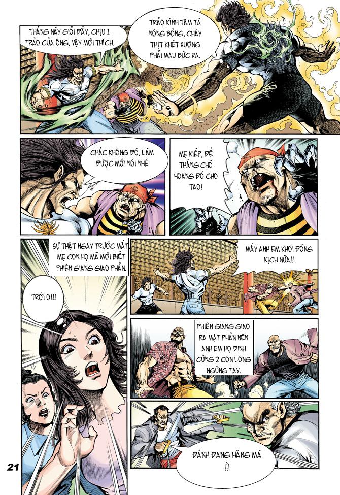 Tân Tác Long Hổ Môn chap 18 - Trang 20