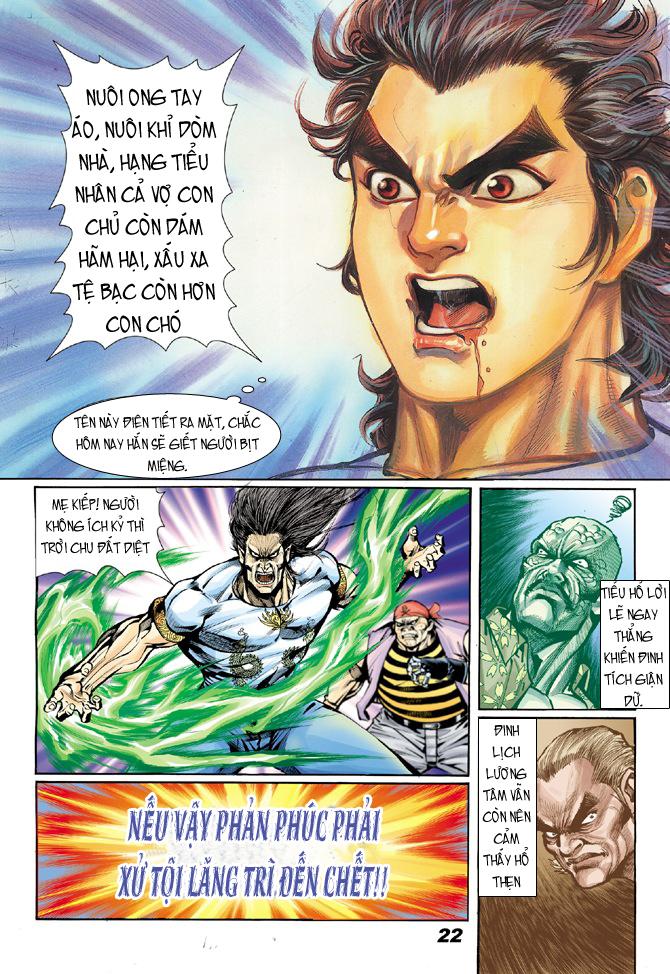 Tân Tác Long Hổ Môn chap 18 - Trang 21