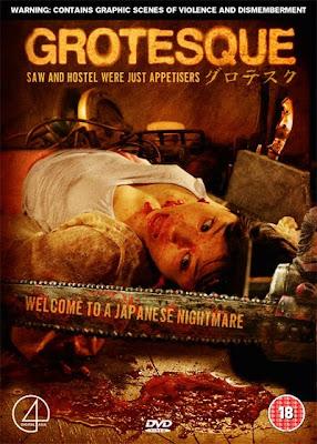 Filme Poster Grotesque DVDrip XviD Legendado