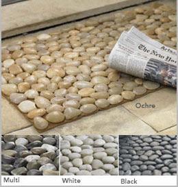 Bird nest reviews ochre for River stone mat