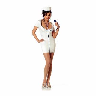 Mujer doctora sensual y divertida