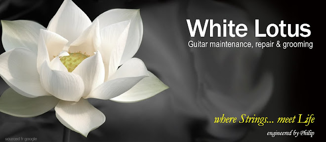 White Lotus ~ guitar maintenance, repairs & grooming