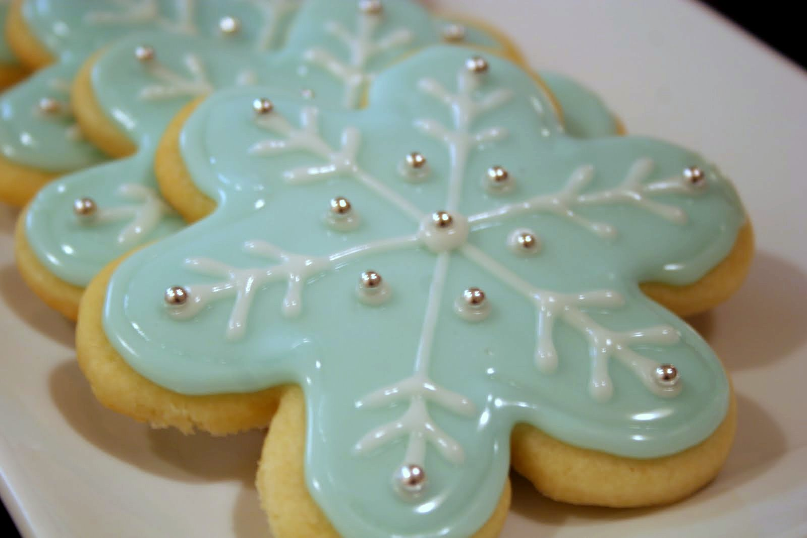 Stuff By Stace: Snowflake Sugar Cookies