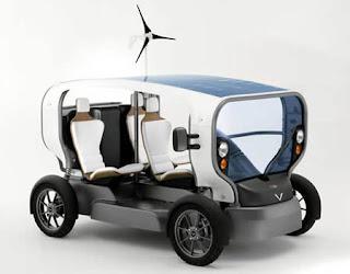 Eclectic: Kendaraan energy-autonomous Pertama di Dunia