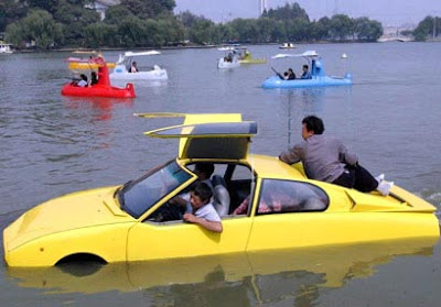 Chinese Amphibious Car