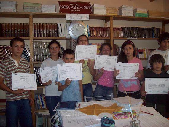 Los alumnos de Ingles con el Prof. Gustavo Diaz