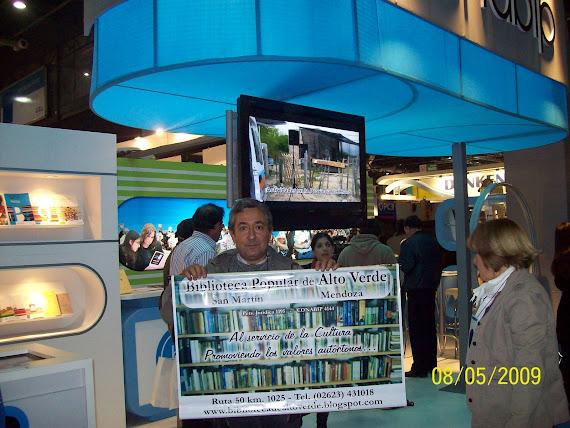 Visitamos el Stand de Conabip en la Feria 2009