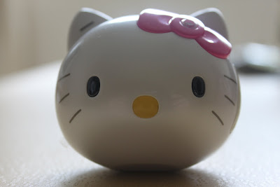 Hello Kitty mobile phone (front view)