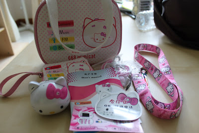 The set of Hello Kitty mobile phone