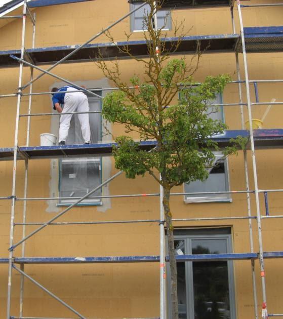 Bau blox fenster einbauen und laibungen verputzen - Fenster ug wert ...