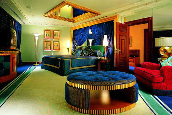 A dreamy world burj al arab hotel for Burj al arab rooms