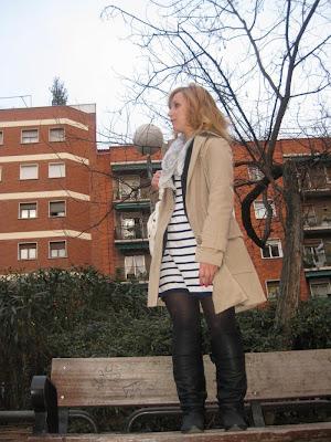 boyfriend blazer, trench, street style
