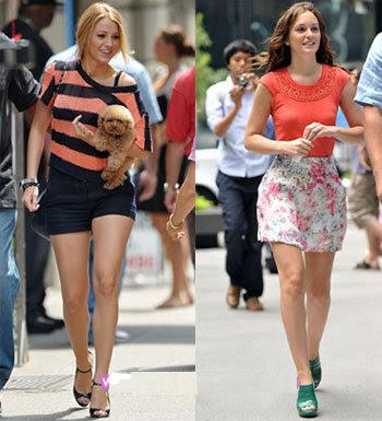 Blair Waldorf, Leighton Meester,Serena van der Woodsen, Blake Lively, gossip girl, topshop