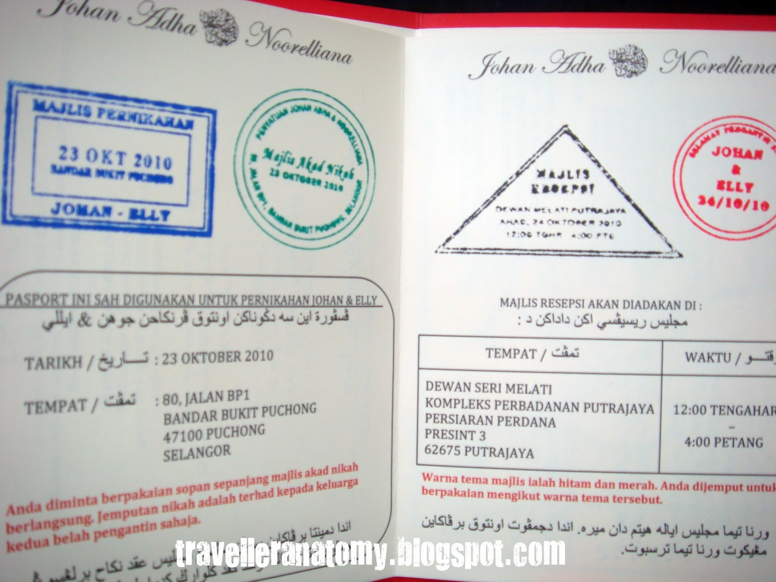 Passport Pages Template The passport pages