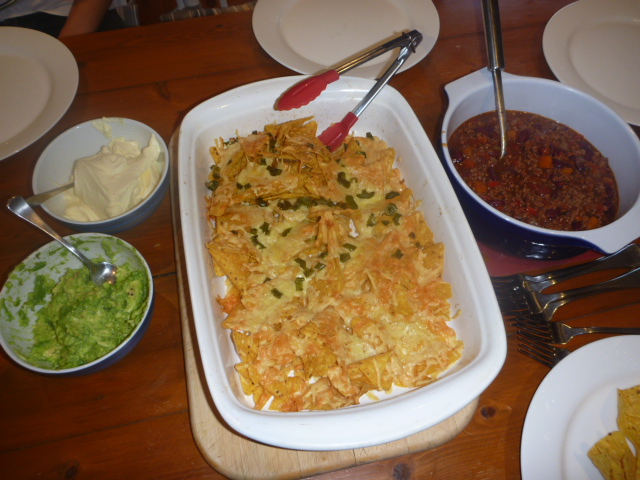 What shara cooked chilli con carne in the sc followed by for Adding chocolate to chilli con carne