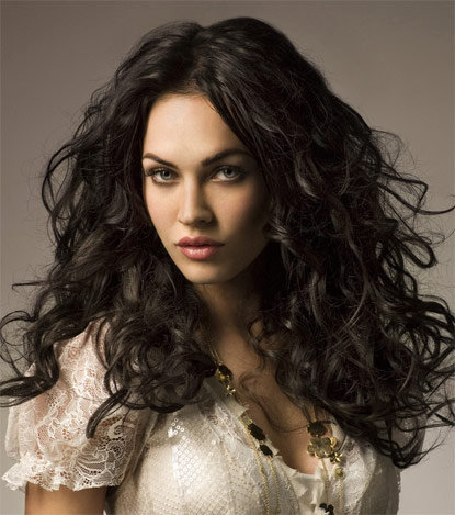 megan fox hair color. Megan Fox