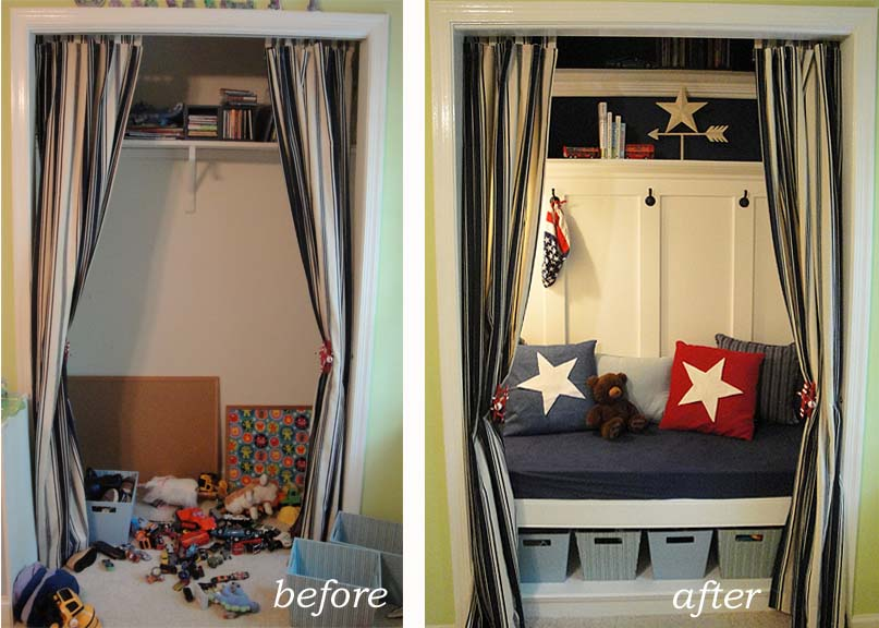When Is A Closet Not A Closet When It Is A Reading Nook
