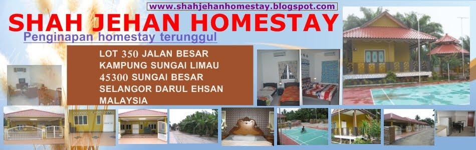 Shah Jehan Homestay Sungai Besar, Selangor