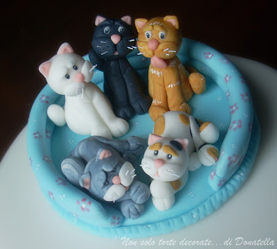 how to make a cat from fondant