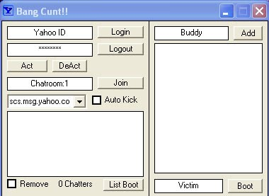iweb chat room booters