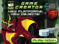 play free online games of ben 10 alien force-game creator