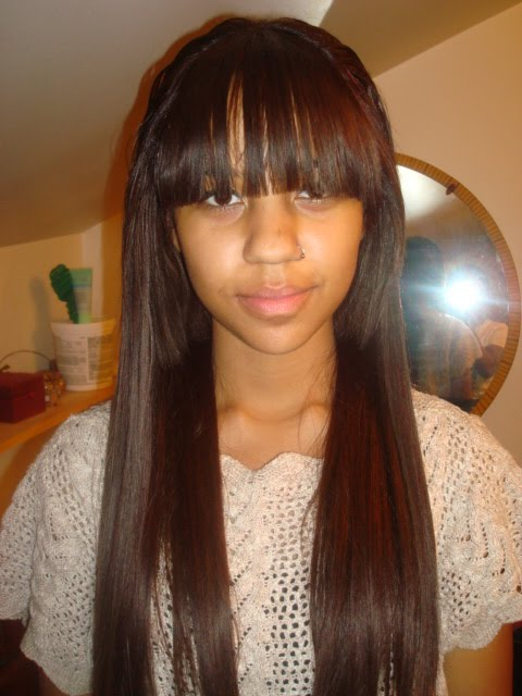 my first sew-in