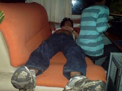 Imágenes graciosas de personas durmiendo