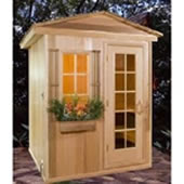 Want to build your own outdoor sauna outdoor saunas for Build your own sauna outdoor