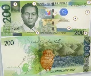 Philippines 200 Pesos