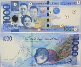 Philippines 1000 Pesos