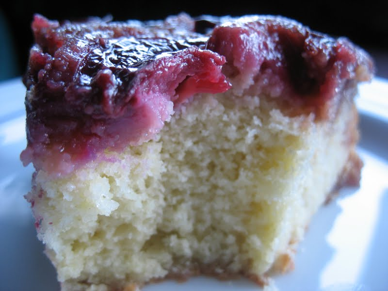 The Hungry Dog: Alice's upside-down plum cake