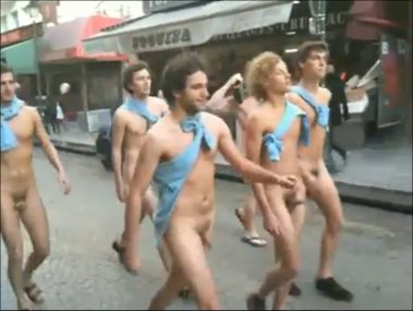 French Naked Male Students