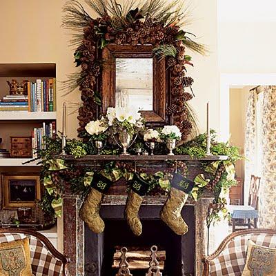 Interiorz dezigned cozy christmas interiors for Elle decor christmas tree