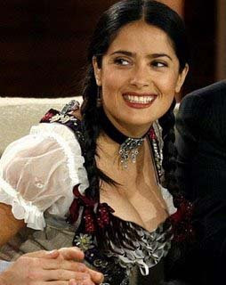 Celebrity Oops Photo on Great And Extremely Hot Photos And Video  For You  Salma Hayek Oops