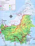 the island of wisata sadau kalimantan