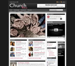 free blogspot template magazine style