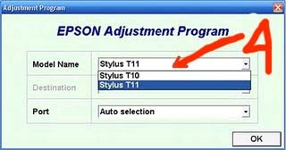 SOLVED How to reset Epson Stylus T10 manually - Fixya