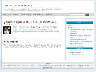 template blogger seo friendly simple