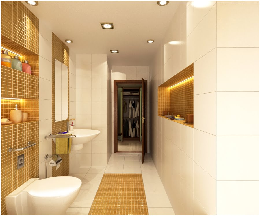 My 3drendering madness typical bathroom design for for Bathroom designs with dressing area